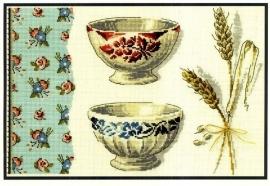 BK 288 - Bowls and Corn - Les bols et les épis de blé