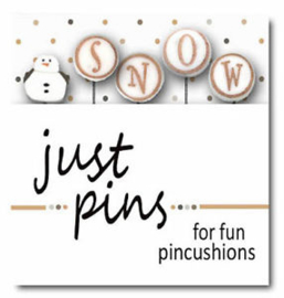 "Just another Button - Just Pins ""Snow"""