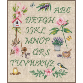 Vervaco - Alphabet du Jardin (PN-0183197)