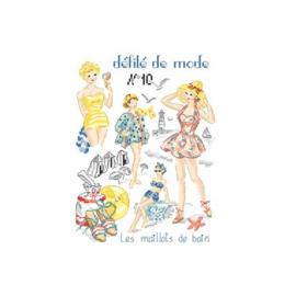 """Les Brodeuses Parisiennes - Défilé de mode nr. 10 - """"Les maillots de bain"""""""