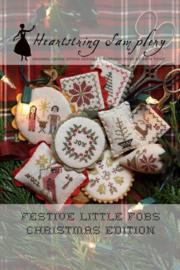 Heartstring Samplery - Festive Little Fobs Christmas Edition