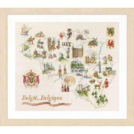 Lanarte - PN-0173689 - Kaart van België