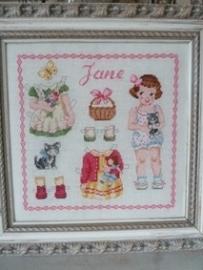 Des Histoires à broder - Jane