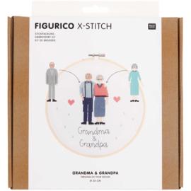 Rico Design - Figurico - Grandpa & Grandma (n° 100109)