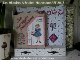 Des Histoires à broder - Ouvrages parisiens