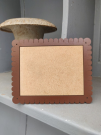 """Atelier Bonheur du Jour - Houten kader """"Petit-Beurre"""" (rechthoekig bruin)"""