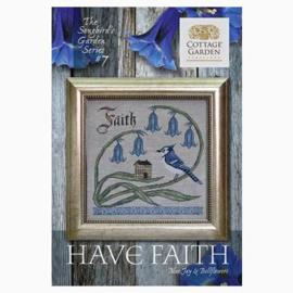 Cottage Garden Samplings - Have Faith (The Songbird's Garden nr. 7)