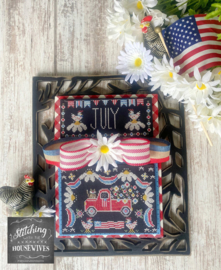 Stitching with the Housewives - Truckin' Along - July