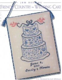 JBW Designs - French Country Wedding Cake (278)