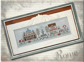 Country Cottage Needlework -Afternoon in Rome