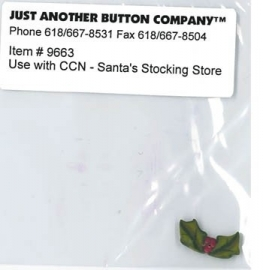 Just another button - Santa`s village nr. 5