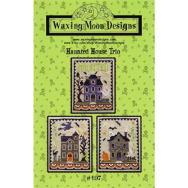 Waxing Moon Designs - Haunted House Trio