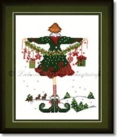 Liebevolle Kreuzstichentwürfe - Kleine Lulu zu Weihnachten
