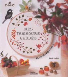 Boek - Mes tambours brodés (Editions Marie-Claire)