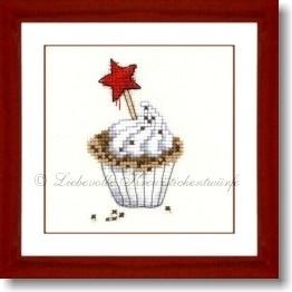 Liebevolle Kreuzstichentwürfe - Weihnachtsmuffin (M-334-13)