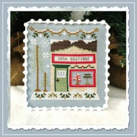 "Country Cottage Needleworks - Snow Village - ""Snow Boutique"" (nr. 7)"