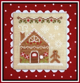 Country Cottage Needleworks - Gingerbread House 2 (Gingerbread Village)