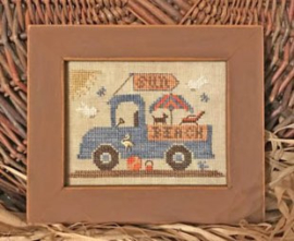 "Homespun Elegance - ""Beach Fun Truck"""