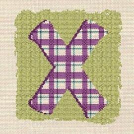 Lili Points - 000X - Letter X