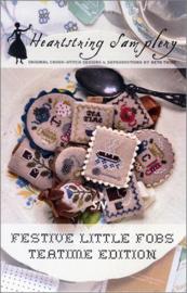 Heartstring Samplery - Festive Little Fobs Teatime edition