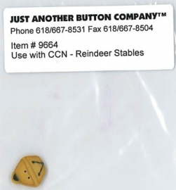 Just another button - Santa`s village nr. 6 (reindeer stables)