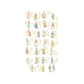 """Les Brodeuses Parisiennes - Le grand ABC """"Mode Empire"""""""
