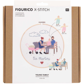 Rico Design - Figurico - Young Family (n° 100111)