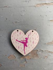 "Atelier Bonheur du Jour - Hart - ""Ballerina"""