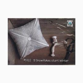 Thistles - Snowflakes start Winter (1722-11)
