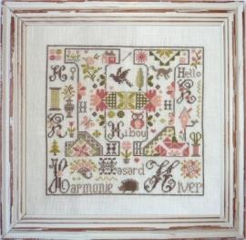 Jardin Privé - Letter H