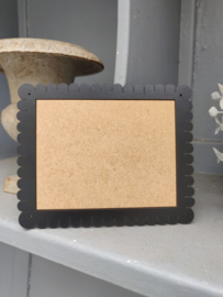 "Atelier Bonheur du Jour - Houten kader ""Petit-Beurre"" (rechthoekig zwart)"