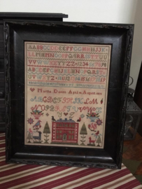 Chessie and Me - Martha Davies 1830 Sampler