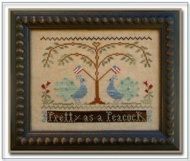 Little House Needleworks - Pretty as a Peacock