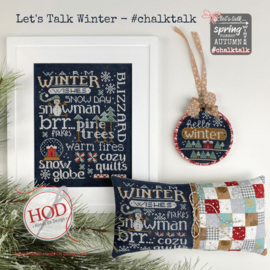 Hands on Design - Let's Talk Winter