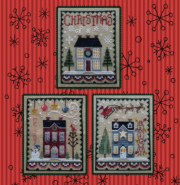Waxing Moon Designs - Christmas House Trio