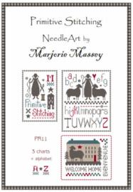 Marjorie Massey - Primitive stitching - PR11