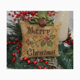 Abby Rose Designs - Primitive Merry Christmas Pillow