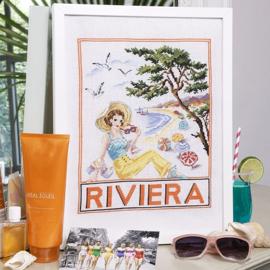 """Les Brodeuses Parisiennes - """"Riviera"""" (linnen)"""