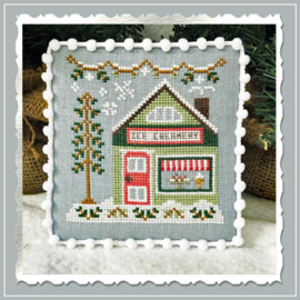 Country Cottage Needleworks - Ice Creamery (Snow Village nr. 9)