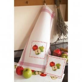 Vervaco - 2320/12.404 - Pannenlap met appels