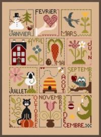 Jardin Privé - Au fil des mois (franse versie)