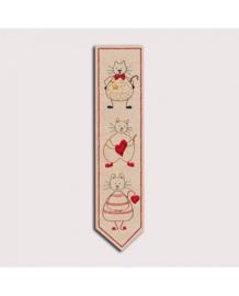 Le Bonheur des Dames - réf. 4716 - Boekenlegger (borduren)