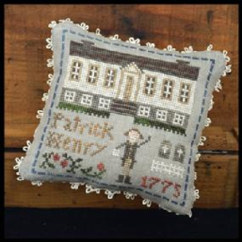 """Little House Needleworks -""""Early Americans"""" - nr. 8 Patrick Henry"""
