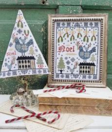 Hello from Liz Mathews - Third Day of Christmas Sampler & Tree