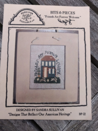 """Homespun Elegance - """"Friends are Forever Welcome"""" (Bits & Pieces)"""