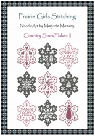 Marjorie Massey - Country Snow Flakes II (PR-24)