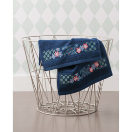 Rico Design - Handdoek (donkerblauw) (art. 740257.18)