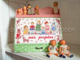 Des Histoires à Broder - Mes Poupées (mijn poppen)(pakket)