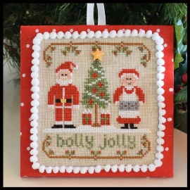 Country Cottage Needleworks  - Holly Jolly