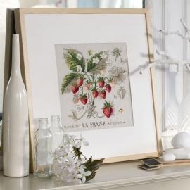 Les brodeuses Parisiennes - Etude au fraises de Veronique Enginger (linnen)